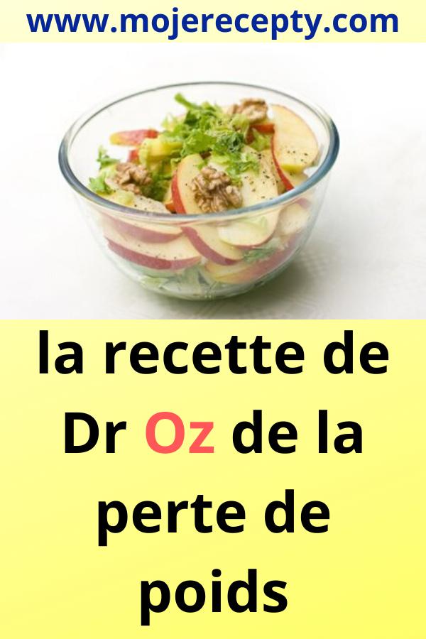 dr oz meilleurs conseils de perte de poids
