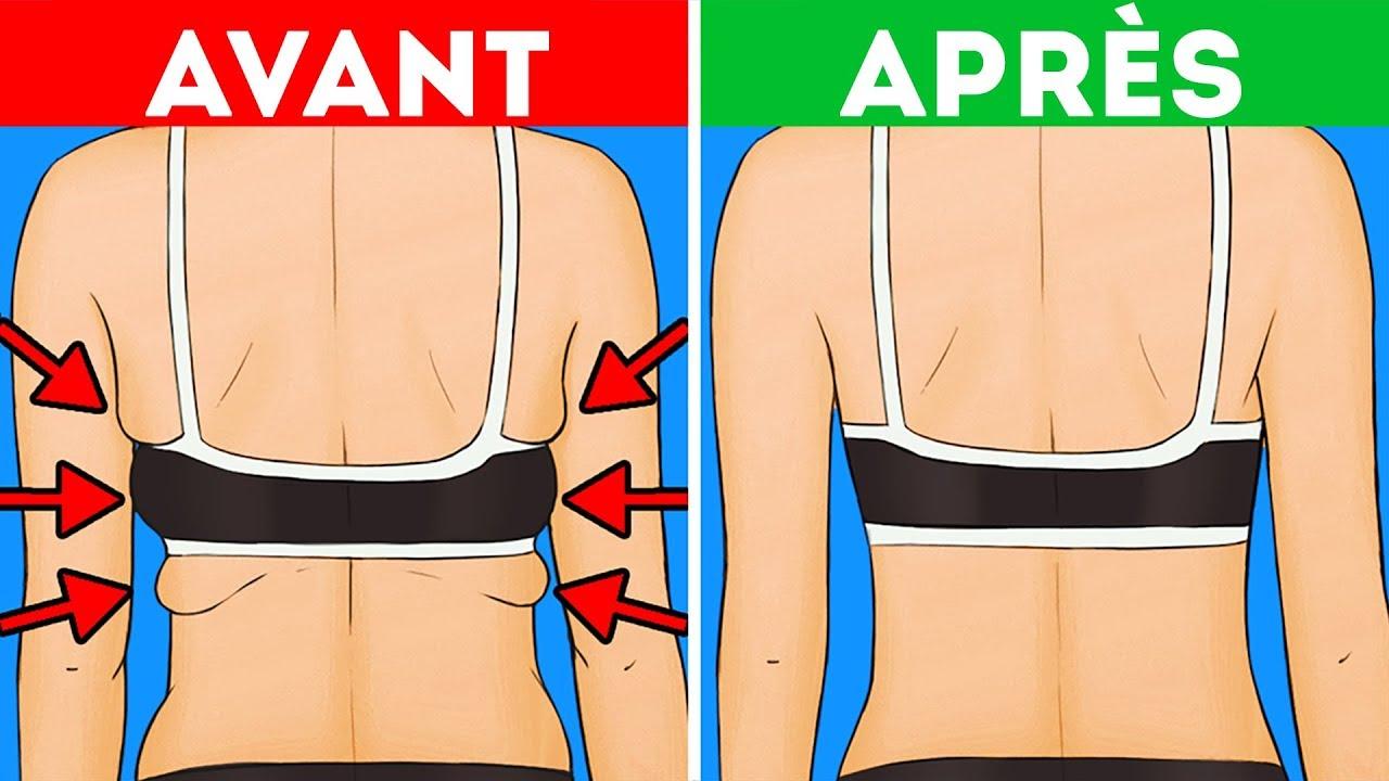 la graisse du dos perd du poids rapidement