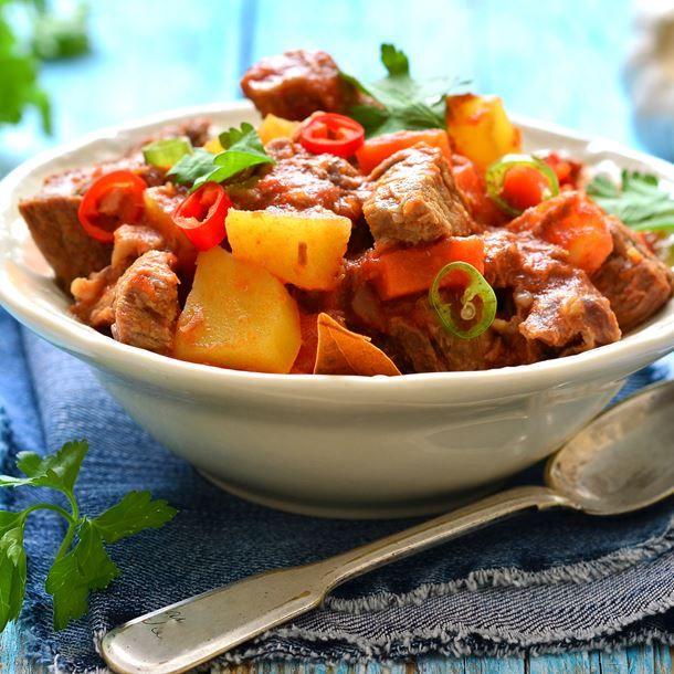 Ragoût de boulettes en sauce