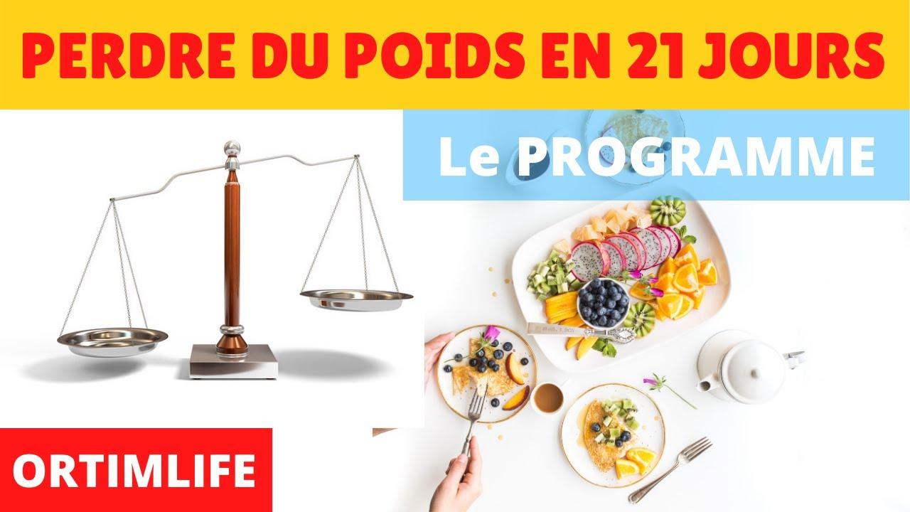 perte de poids à vie en 21 jours