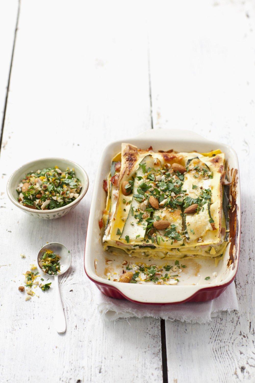 Recette minceur - Lasagnes aux Légumes