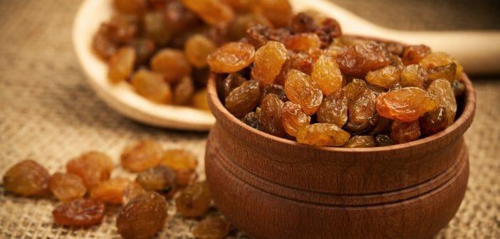 Faites l'expérience minceur du raisin sec