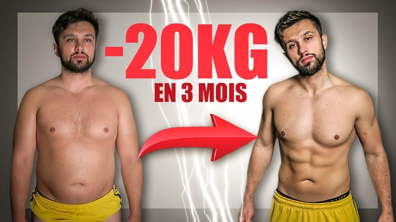20 kg de perte de poids 3 mois incapable soudainement de perdre du poids