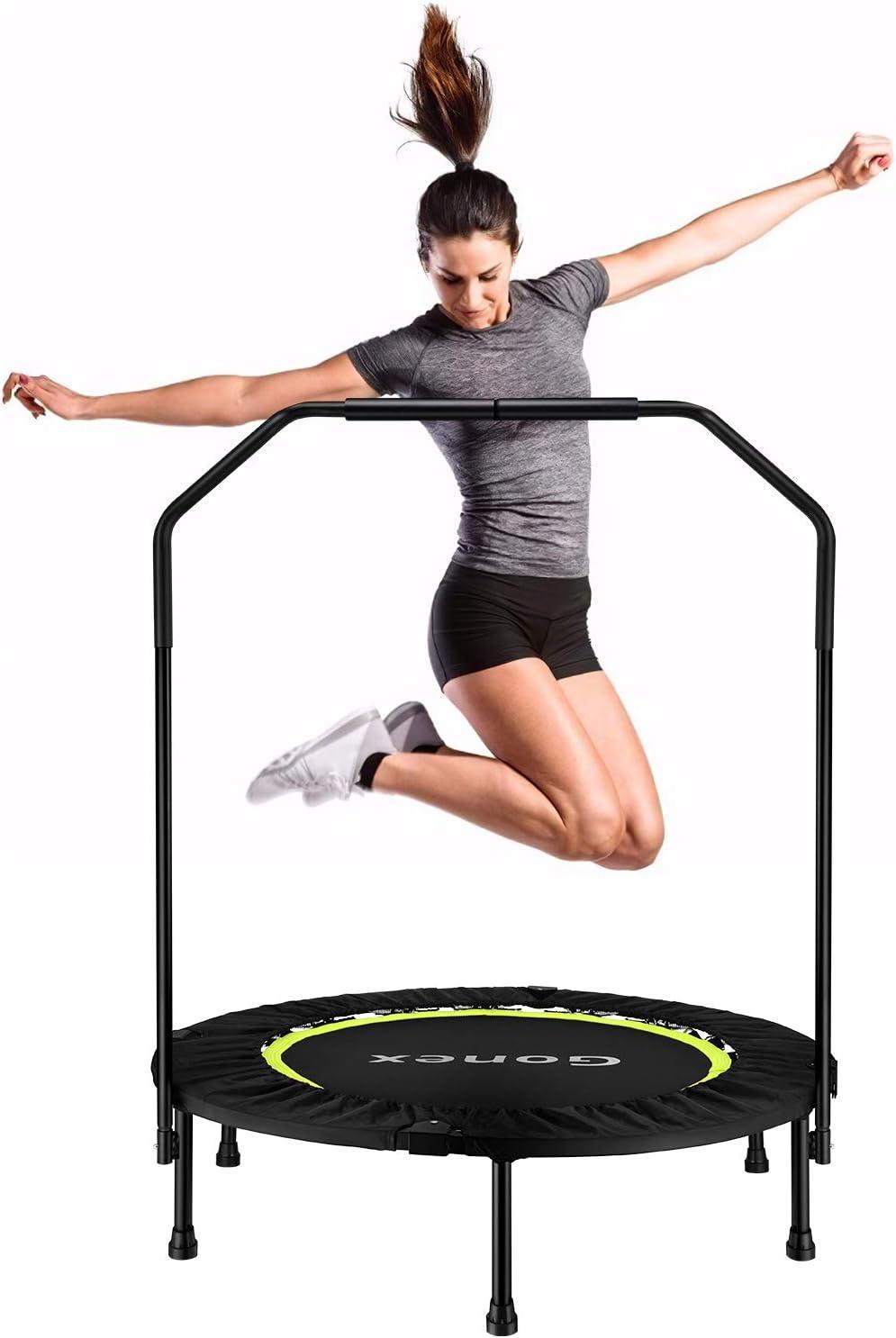 Adoptez le trampoline : du fitness, avec une dose d'humour