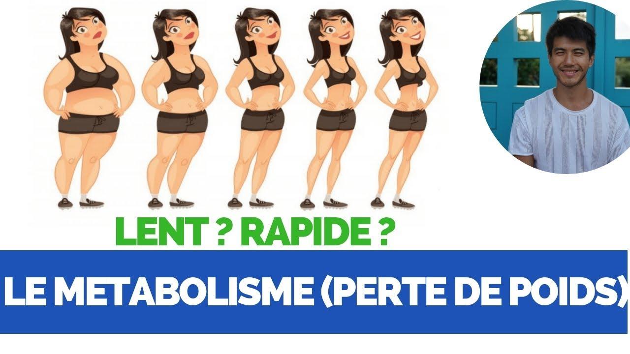 métabolisme rapide et perte de poids