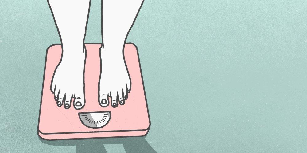 perte de poids après avoir été malade
