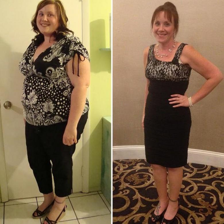 35 kg de perte de poids en 6 mois