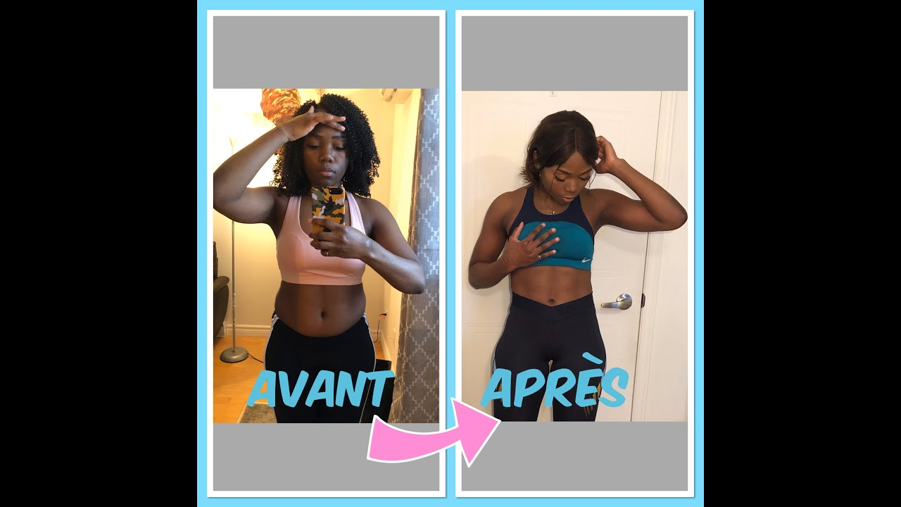 4 mois de perte de poids