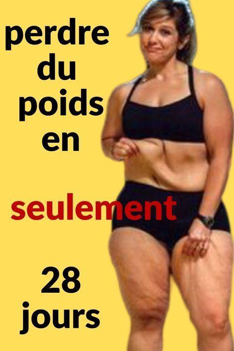 perdre du poids 28 jours