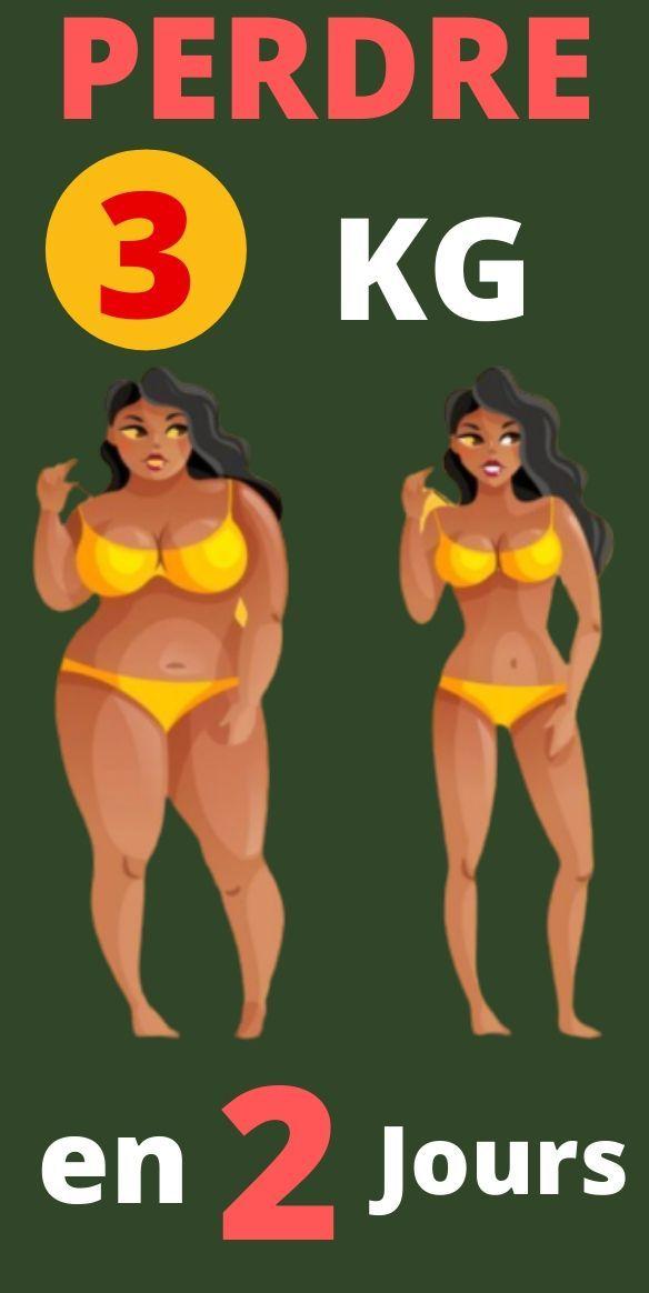 conseils de perte de poids en 2 jours