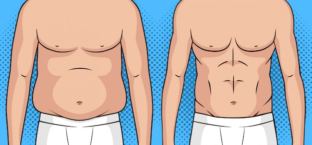 art de la perte de poids