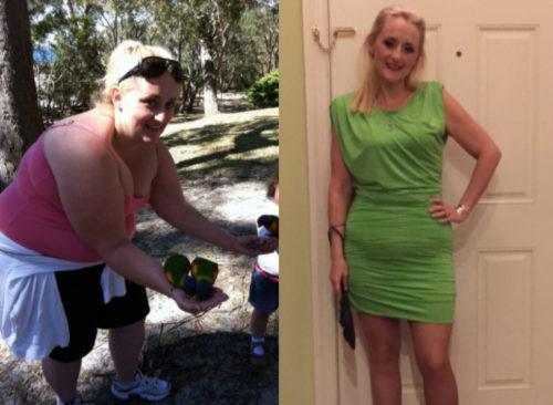 perdre la moitié du poids corporel