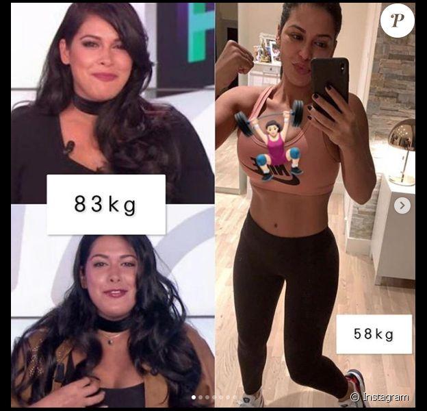 5 livres de perte de poids avant après