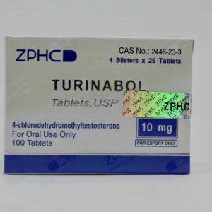 1ère cure Turinabol