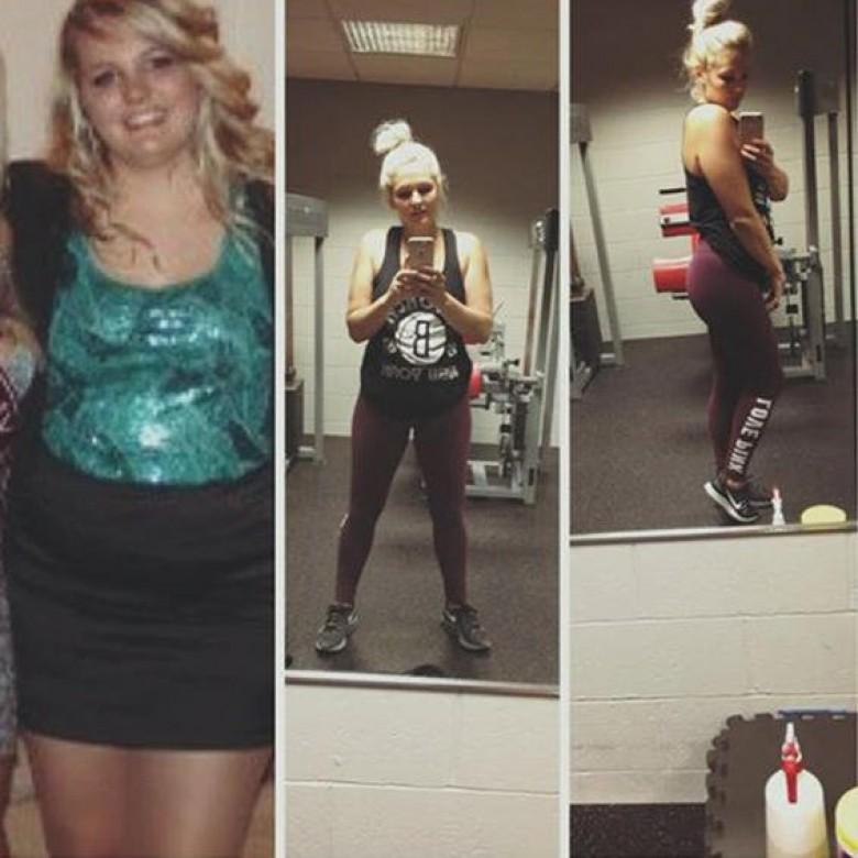 Transformation de perte de poids de 9 semaines