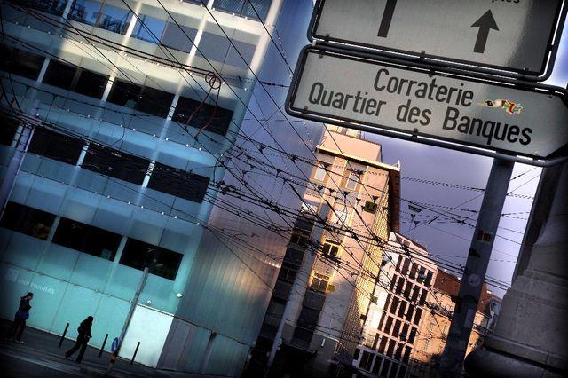 perte de poids des banques extérieures