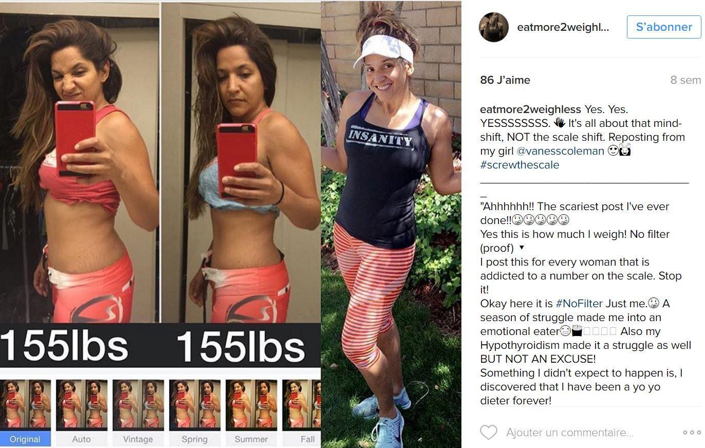 perte de graisse mais même poids