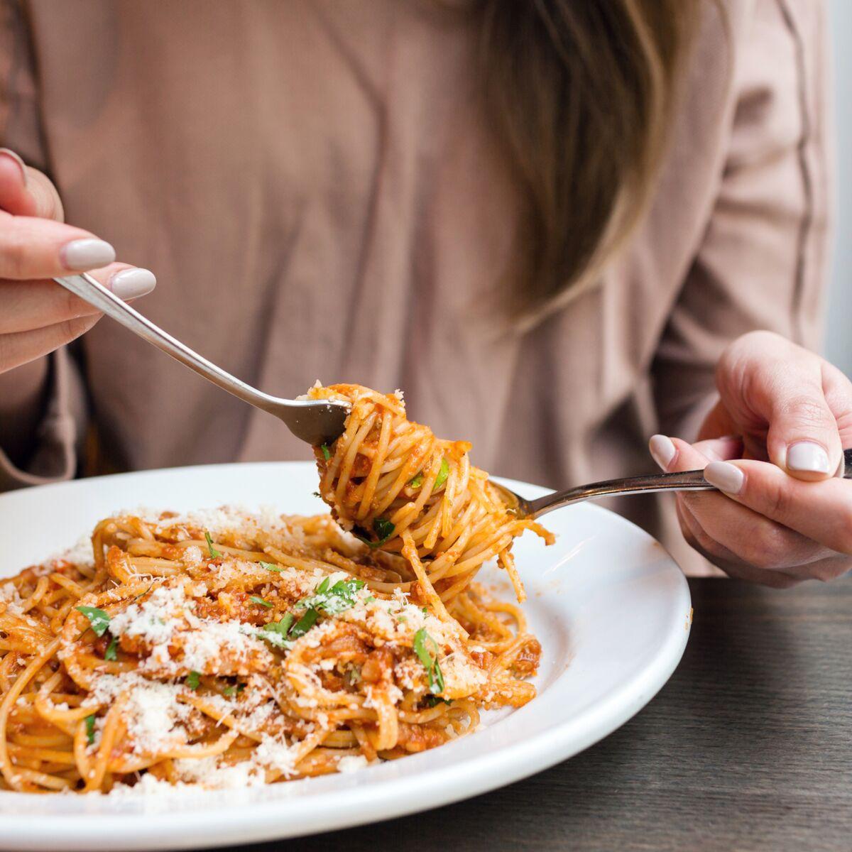 les spaghettis peuvent perdre du poids