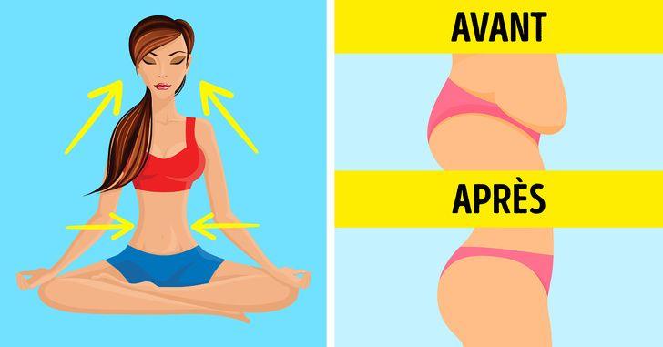 perdre du poids respiration profonde