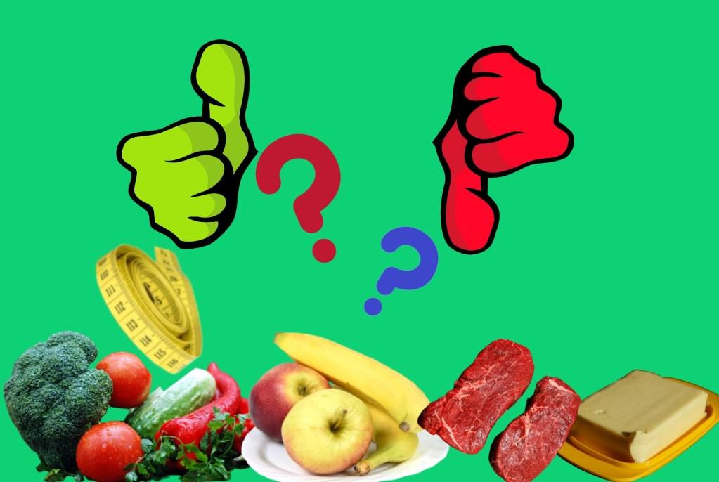 bons repas en essayant de perdre du poids