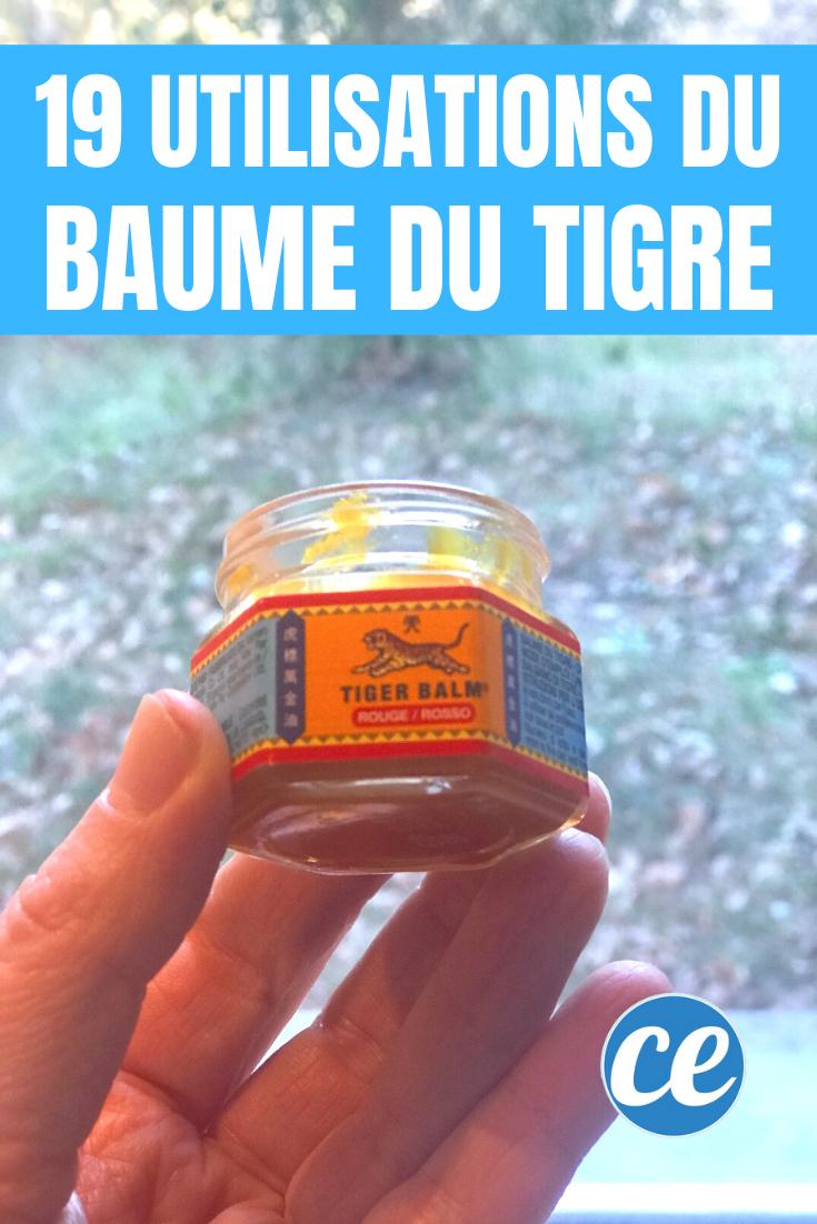 Le baume du tigre fait-il maigrir ?
