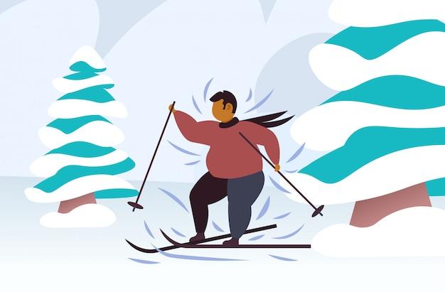 perte de poids de voyage de ski