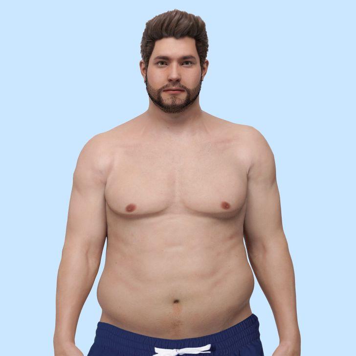 endomorphes brûlant les graisses