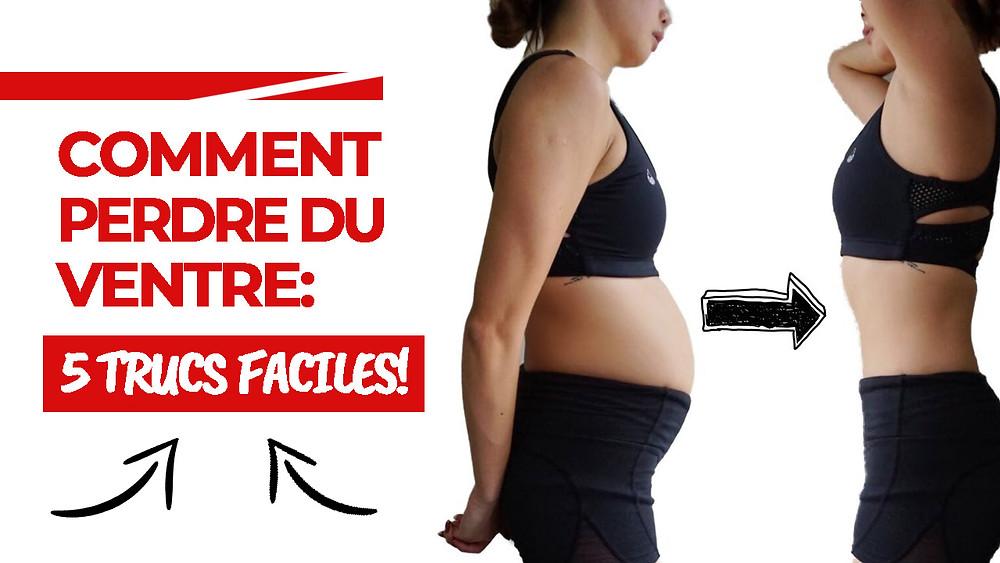 comment perdre juste votre graisse du ventre