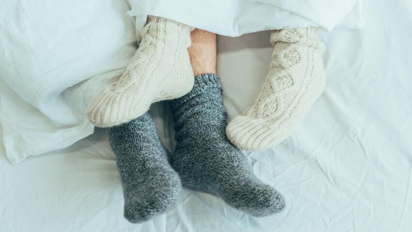 dormir chaussettes minceur perdre de la graisse du ventre la santé des femmes
