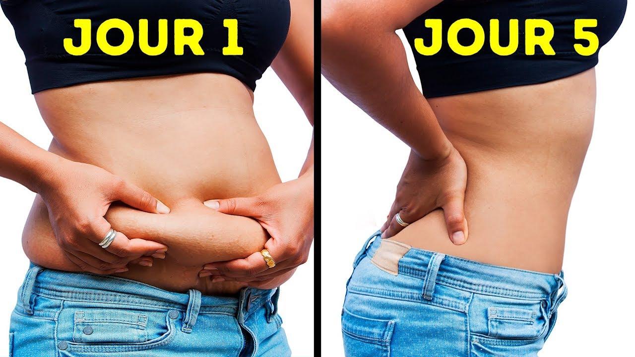 quand perdez-vous la graisse du bas du ventre