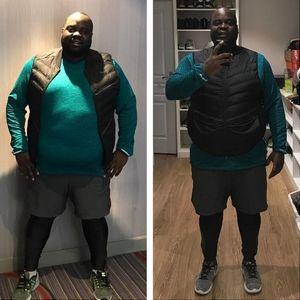 perte de poids spectaculaire avant et après