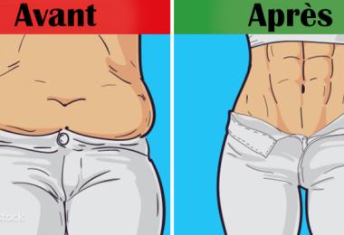 perdre du poids après 6 semaines