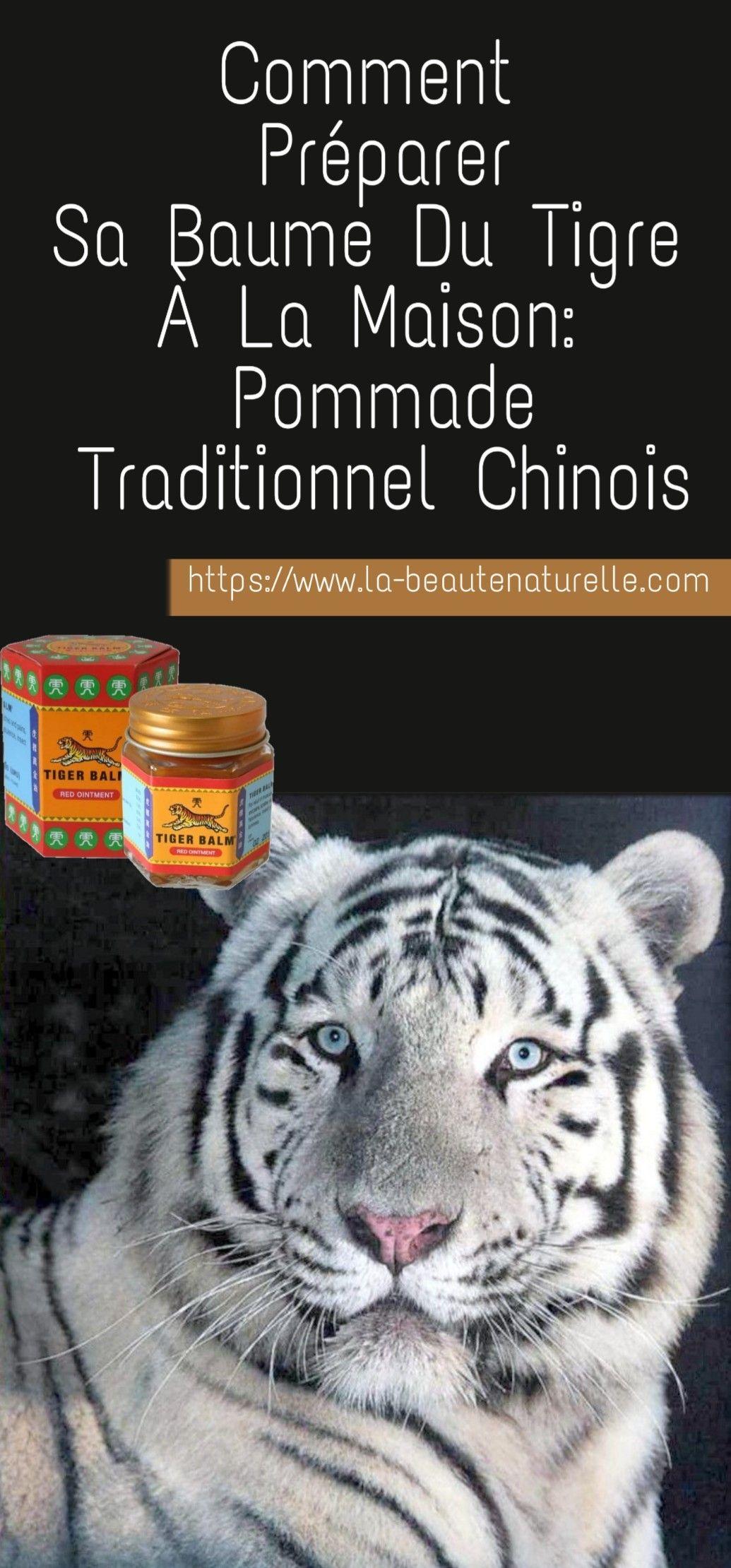 perte de poids de baume du tigre