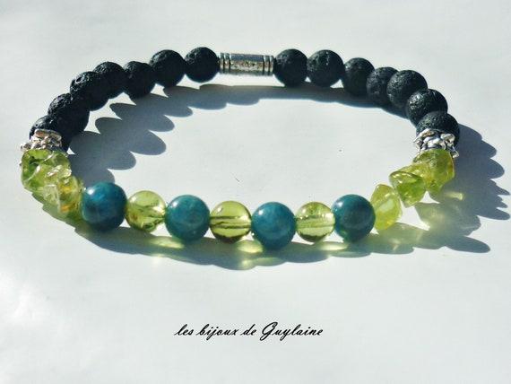 Épinglé sur Bracelets pierres naturelles domidora