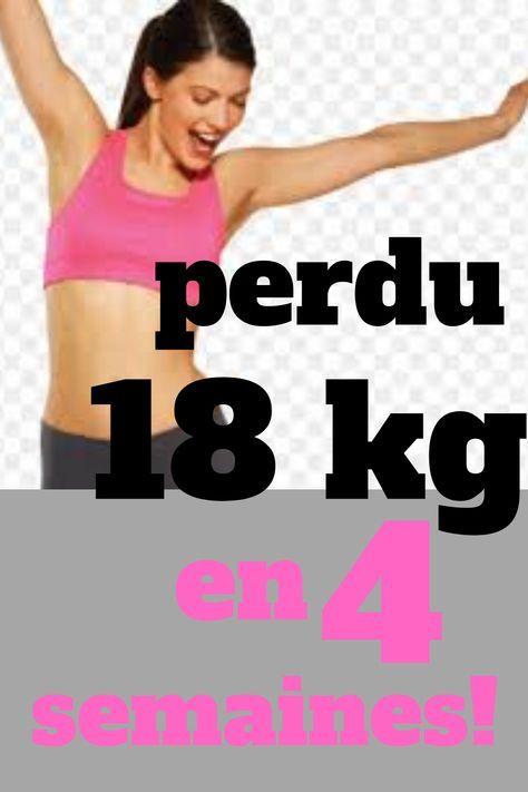 5 semaines pour perdre entre 5 et 10 kilos