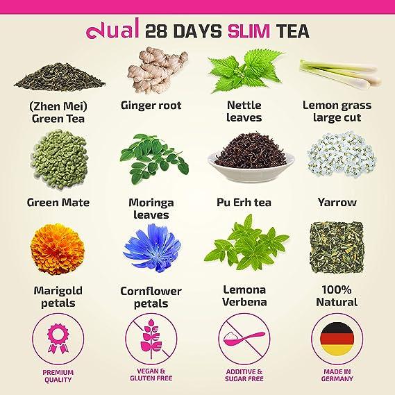 10 jours de thé brûleur de graisse Trimtuf