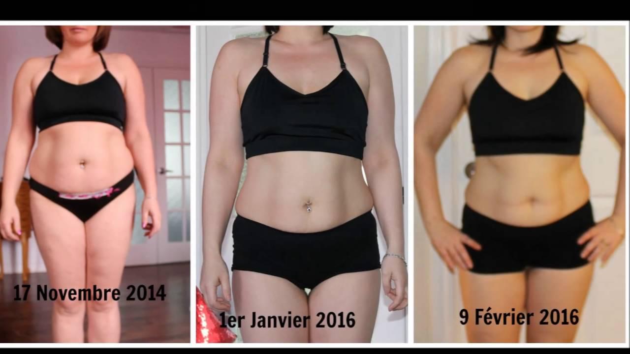 la perte de poids avant et après
