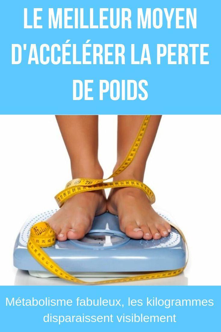 accélérer votre métabolisme et votre perte de poids