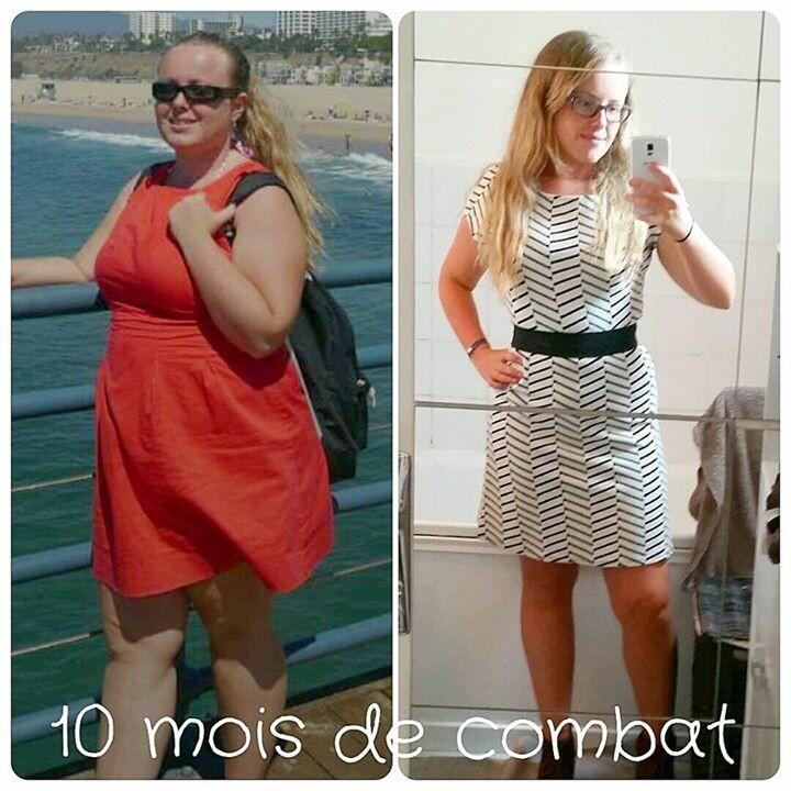Résultats de perte de poids sur 3 semaines