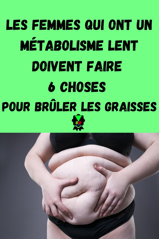 perdre de la graisse sans ralentir le métabolisme