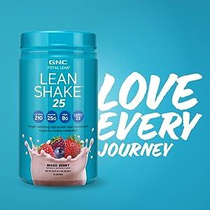gnc lean shake 25 pour perdre du poids