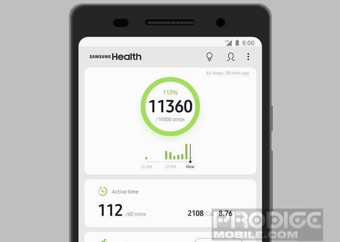 application de perte de poids Samsung perte de poids de deux mois avant et après