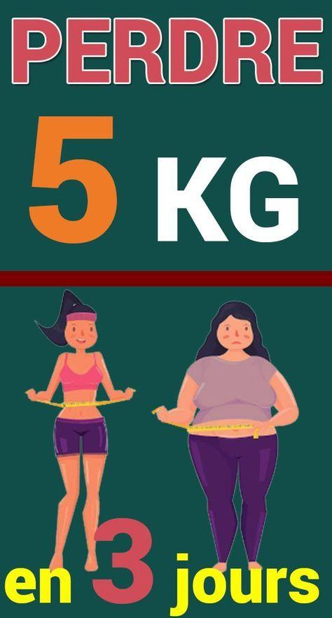 Perdre 3 kilos en 3 jours à 1 semaine, est-ce possible ?