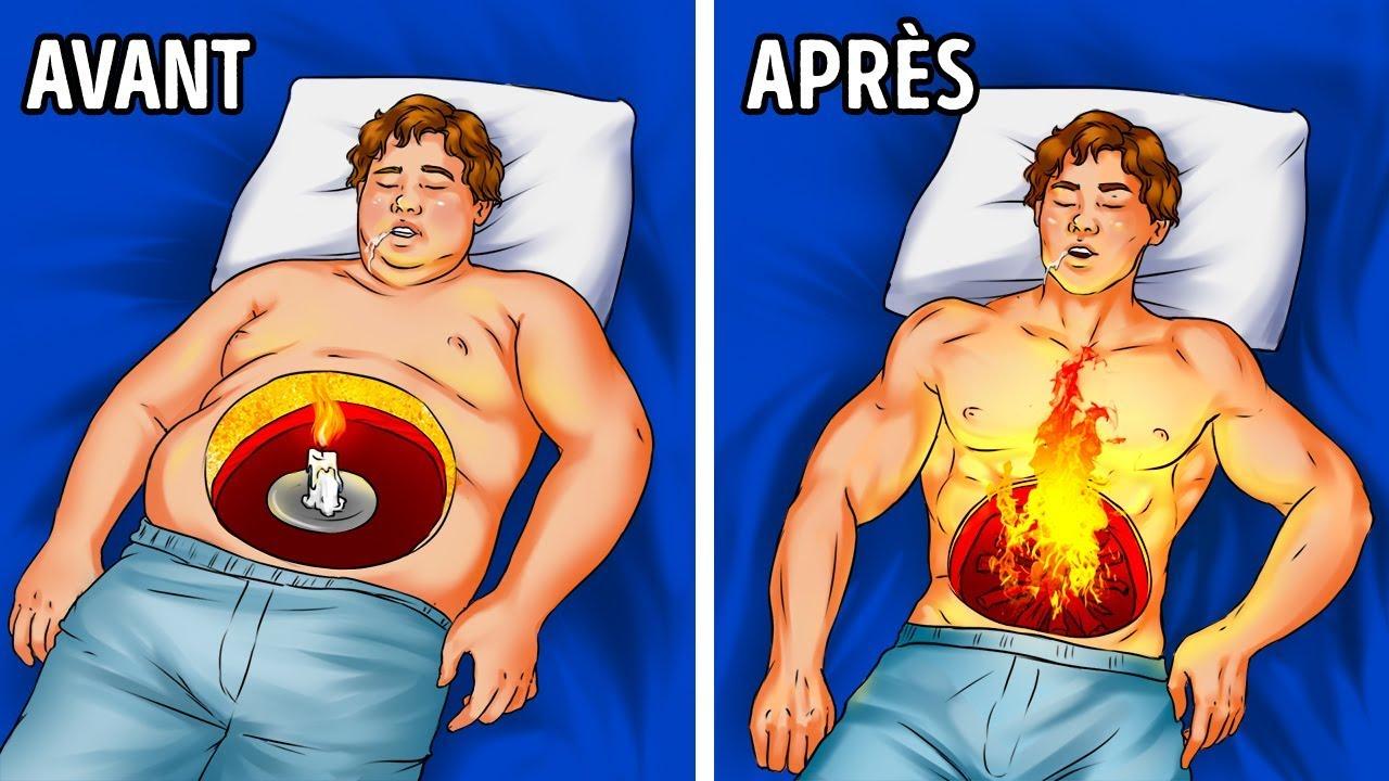 Comment stimuler la perte de poids pendant notre sommeil ?