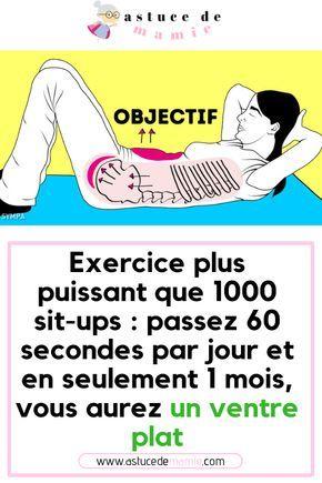 comment perdre du poids sit ups
