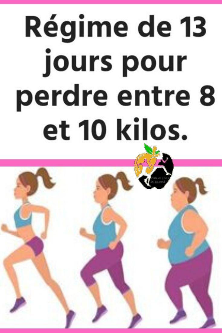 pouvez-vous perdre du poids en 13 jours