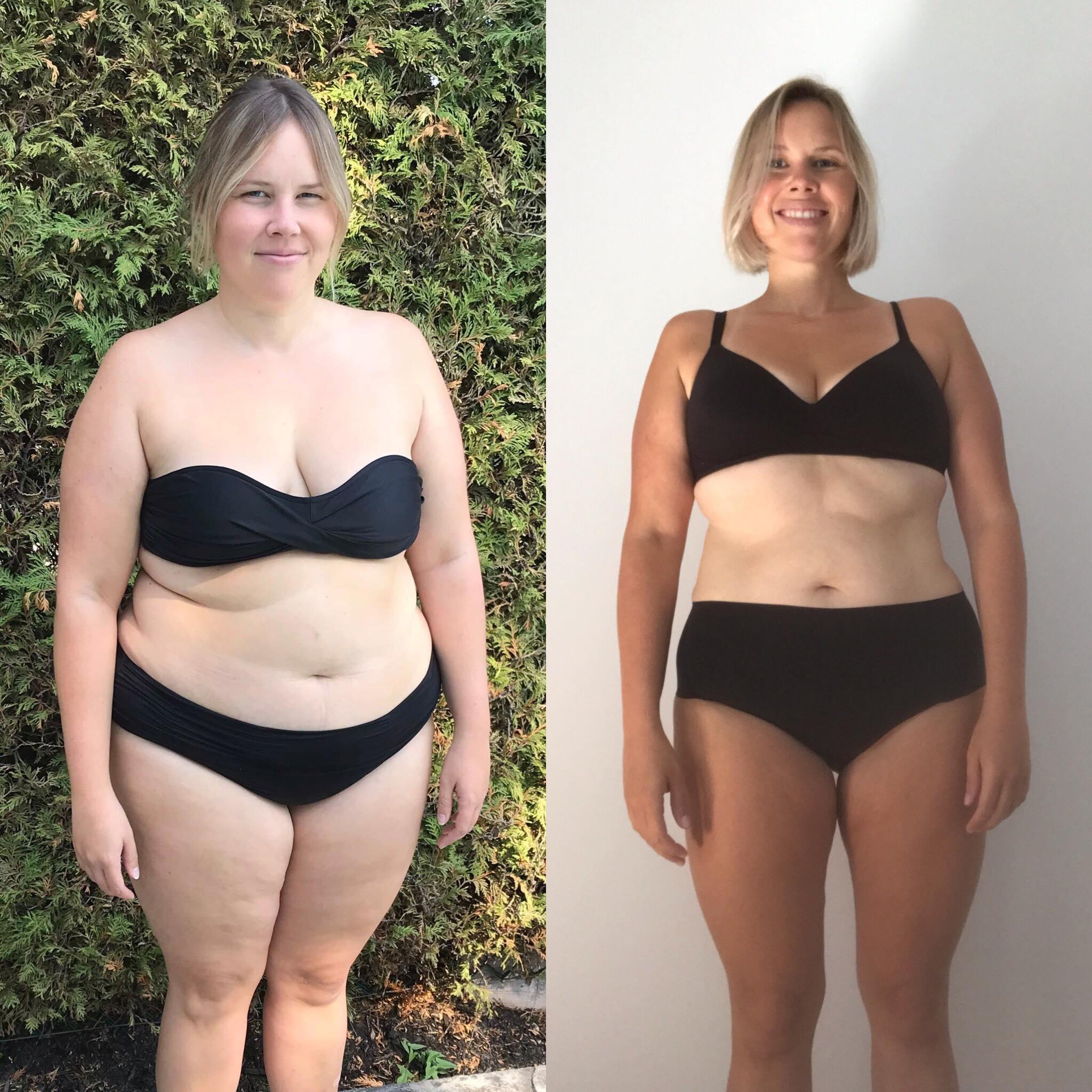J'ai perdu 120 livres et j'ai réalisé mon rêve