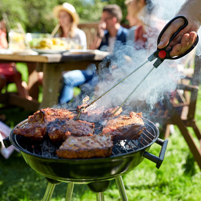 comment enlever la graisse du barbecue du béton