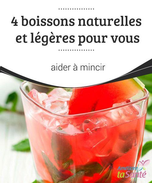 des cocktails pour vous aider à perdre du poids