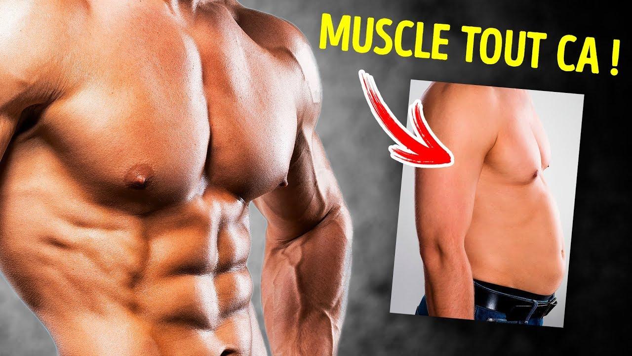 Hommes : comment perdre des seins ? Graisse pectoraux
